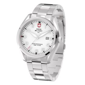Swiss Military Men's Pilot  Stainless Steel Watch
