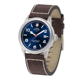 Swiss Military Men's Vintage Leather Watch