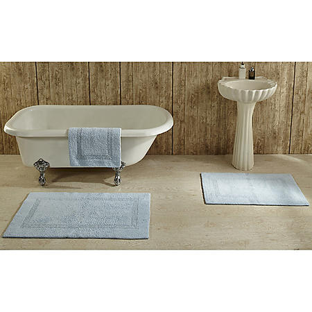 Lux Cotton Tufted Bathmat