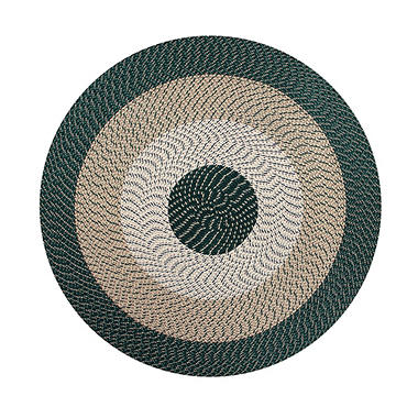 CountryBraid Stripe Hunter Braided Rug