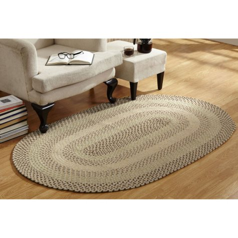 Woodbridge Braided Rug - Various Sizes and Colors