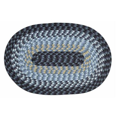 """Alpine Braided Rug, 88"""" x 112"""" (Assorted Colors)"""