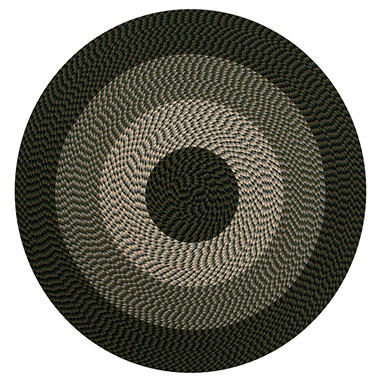 Alpine 6 Round Braided Rug Orted Colors