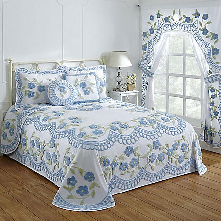 Better Trends Bloomfield Cotton Chenille Bedspread (Assorted Sizes)