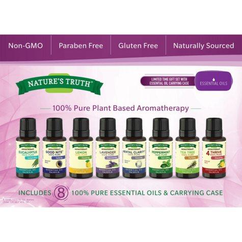 Aromatherapy Essential Oils (8 pk.)
