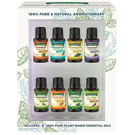 Nature's Truth 100% Pure & Natural Aromatherapy Essential Oil (8 pk.)