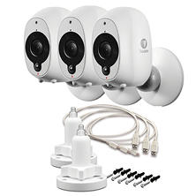 Swann Smart Security Wire-Free 1080p Security Camera 3-Pack with 2 Stands