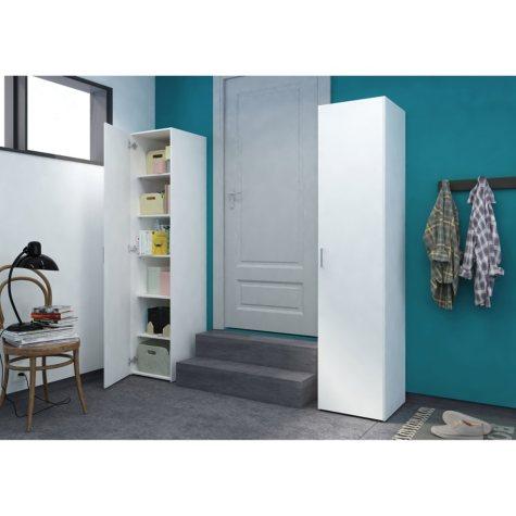 Tvilum Single Door White Storage Cabinet