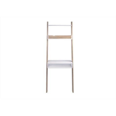 Tvilum Oslo Leaning 2-in-1 Desk and Bookcase, Choose a Color