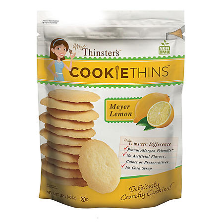 Thinster's Meyer Lemon Cookie Thins (16oz.)