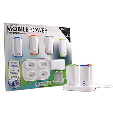 Life Made Family Pack Mobile Power Charging Station