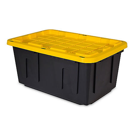 Tough Box 27-Gallon Storage Tote