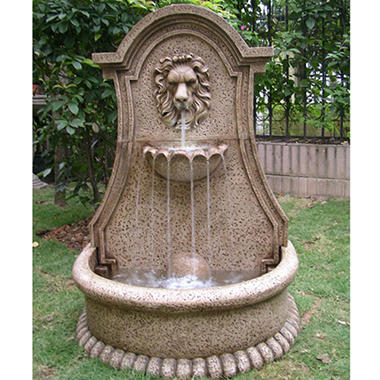 Lucerne Lion's Head Electric Fountain with LED