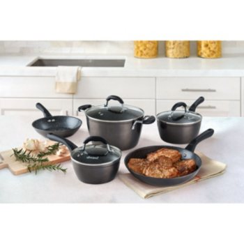 Allrecipes Sizzle Sensor 8-Piece Nonstick Cookware Set