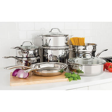 Viking 13 Piece Tri Ply Cookware Set