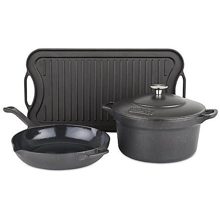 Viking 4-Piece Cast Iron Cookware Set