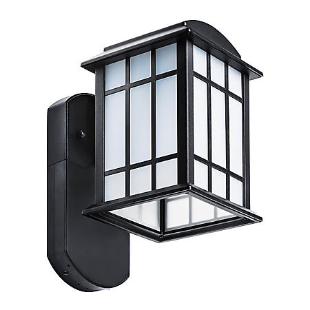 Maximus Craftsman Companion Smart Security Light- Textured Black
