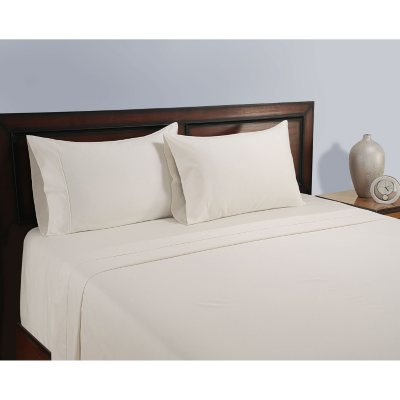 Natural 325 Thread Count Organic Cotton Sheet Set (Assorted Sizes U0026 Colors)