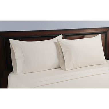 325 Threadcount Natural Sheet Pillowcase Set