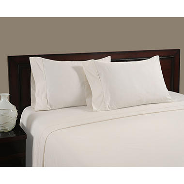 Cool and Crisp 400 Thread Count Pillowcase Set - Various Sizes & Colors