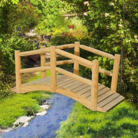 Sunjoy Church Wood Bridge