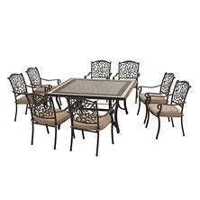 Sunjoy Legacy 9-Piece Dining Set