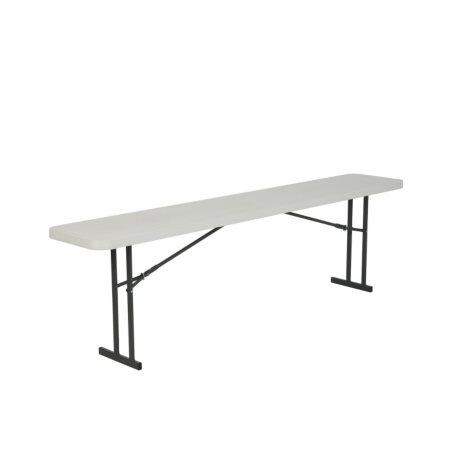 Lifetime 8' Seminar Folding Table, White Granite