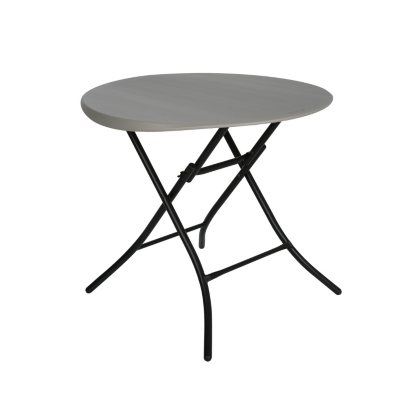 Lifetime 33 Round Folding Table Putty Sams Club