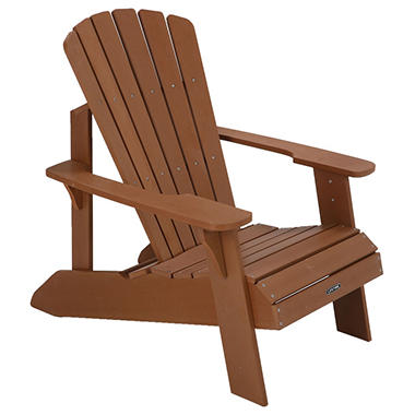 ebay light s item chair wood p faux brown lifetime adirondack