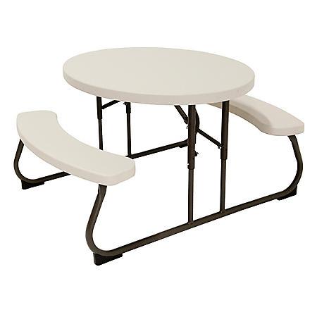 Lifetime Kid S Oval Picnic Table Sam S Club