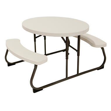 Lifetime Kidu0027s Oval Picnic Table