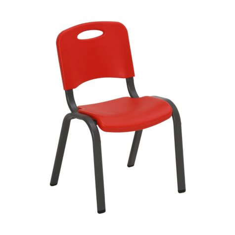 Lifetime Children's Stack Chair, Fire Red or Dragonfly Blue
