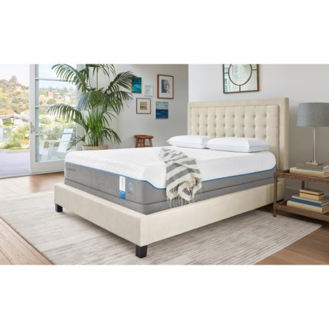 TEMPUR-Cloud Supreme Breeze Queen Mattress Set