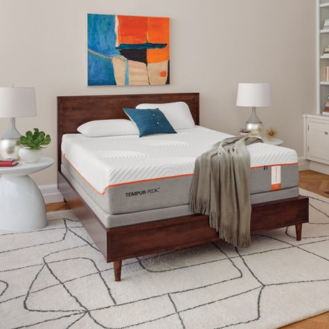 TEMPUR-Pedic Contour Supreme Queen Mattress Set
