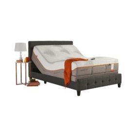TEMPUR-Pedic Contour Elite King Mattress and TEMPUR-Ergo Premier Adjustable Base Set