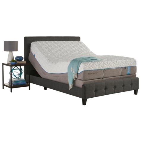 TEMPUR-Pedic Cloud Elite Full Mattress and TEMPUR-Ergo Premier Adjustable Base Set