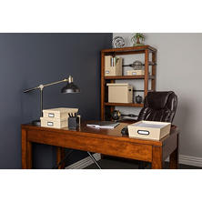 European Office Collection 7-piece Box Set, Available in Gray, Cream, or Blue