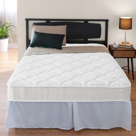 """Night Therapy iCoil 8"""" Spring Mattress and SmartBase Bed Frame Set, Twin"""