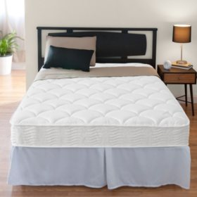"Night Therapy iCoil 8"" Spring Mattress and SmartBase Bed Frame Set, Queen"