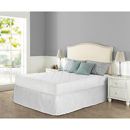"""Zinus Night Therapy iCoil 8"""" Spring Queen Mattress"""