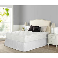 "Night Therapy iCoil 13"" Deluxe Euro Box Top Spring Mattress- Queen"