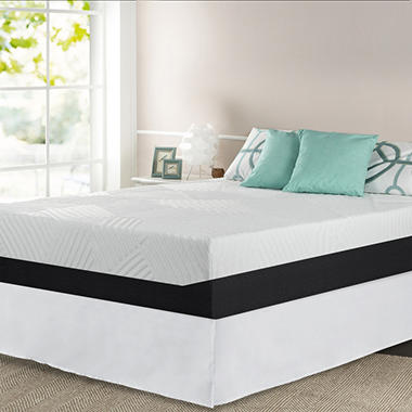 night therapy 13 pressure relief memory foam mattress and bed frame set various sizes sams club
