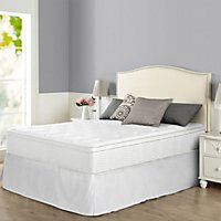 night therapy icoil 12 euro box top spring mattress and smartbase bed frame set