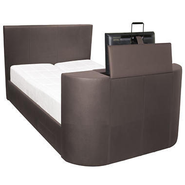 Night Therapy's Revolutionary Entertainment TV Bed - The Ultimate in Luxury and Technology - King