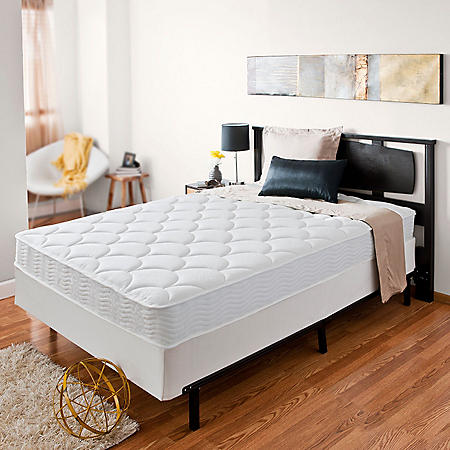 """Zinus Night Therapy iCoil 8"""" Spring Twin XL Mattress and BiFold Box Spring Set"""