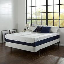 "Night Therapy Gel Infused Memory Foam 12"" Elite Queen Mattress & BiFold Box Spring Set"