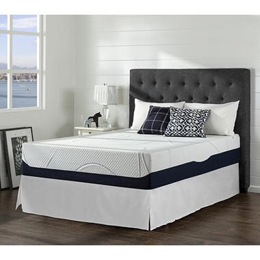 night therapy gel infused memory foam 13 inch elite mattress bed frame set various