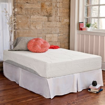 Night Therapy Memory Foam 10 Inch Pressure Relief Mattress Bed