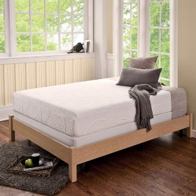 Night Therapy Memory Foam 8 Inch Pressure Relief Twin Mattress & Bi-Fold Box Spring Set