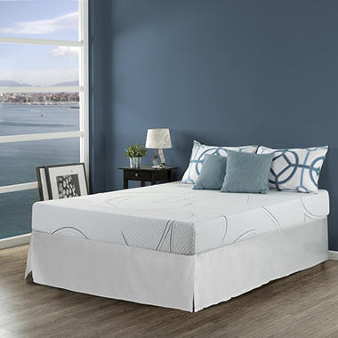 night therapy gel infused memory foam 8 inch elite mattresses bed frame set various - Memory Foam Bed Frame